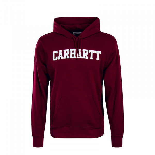 Carhartt Hoody College Bordo