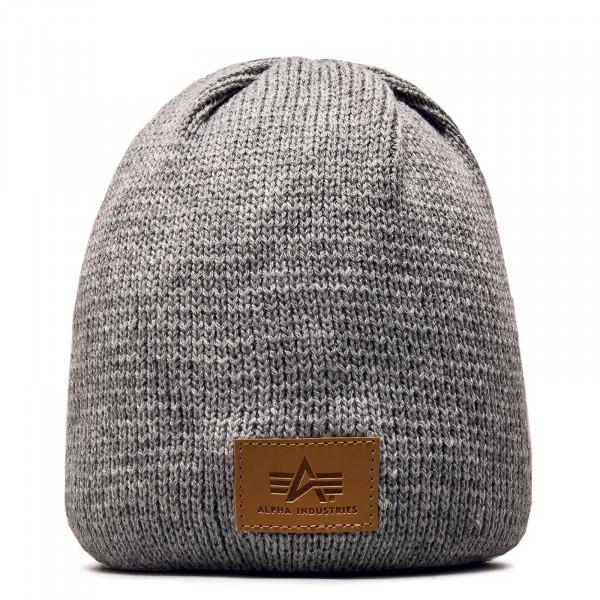 Beanie Knit Grey