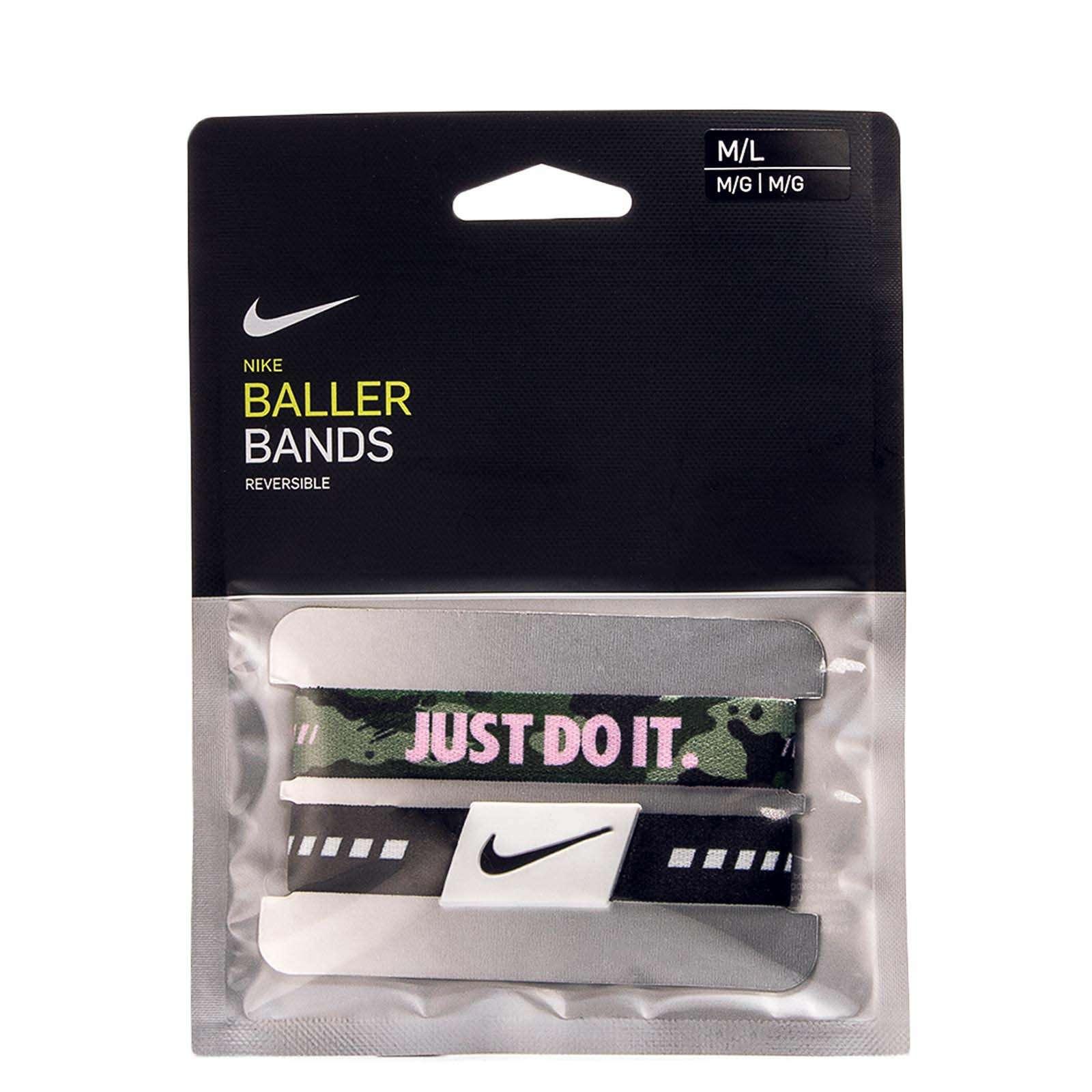 Nike ACC Baller Bands Black Green Camo