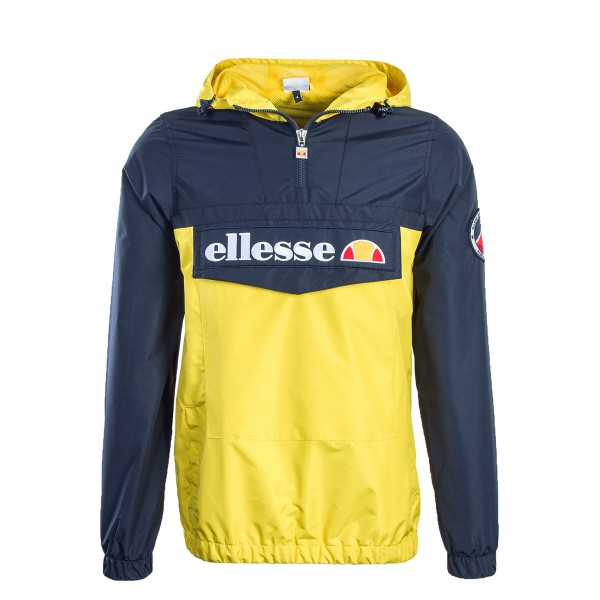 Ellesse Windbreaker Mont 2 Navy Yellow