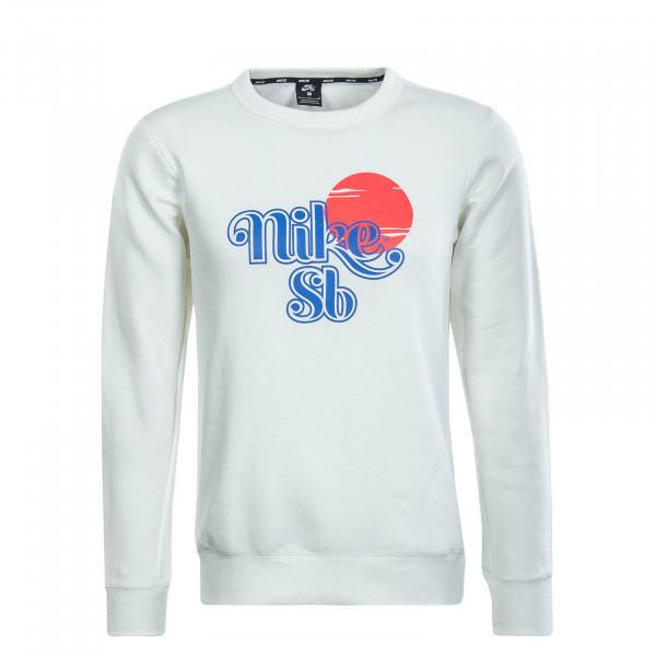 Herren Sweat Icon Sunrise Off White