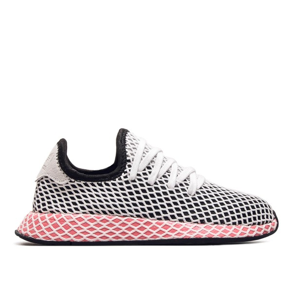 Adidas Wmn Deerupt Runner Black White Ro