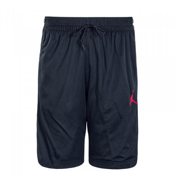 Herren Short Air Tear Away Black Red