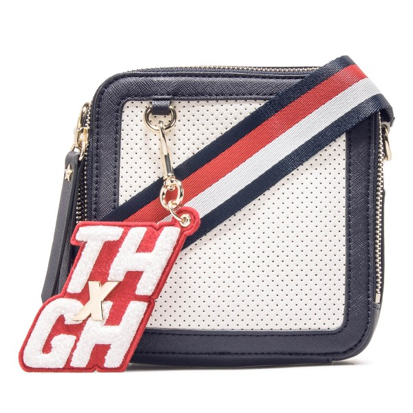 Tommy Bag Gigi Hadid SQ Crosso Navy Wht