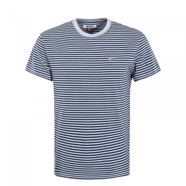Herren T-Shirt 5515 Classic Stripe Grey Blue