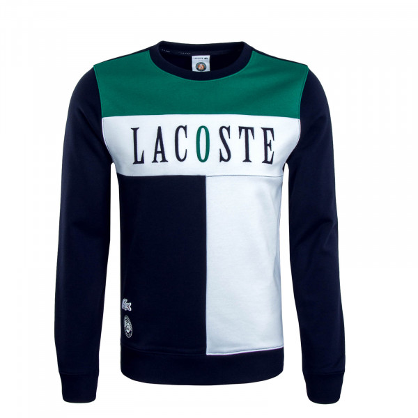 Herren Sweatshirt 3542 Green White Navy