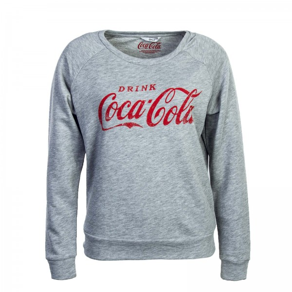 Only Sweat Coca Cola Grey