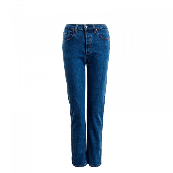 Damenhose 501 Crop Jive Stonewash Blue