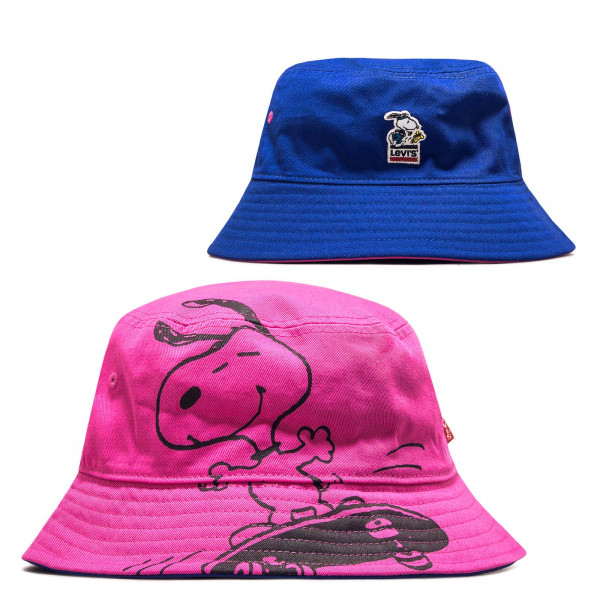 Hut Reversible Snoopy Sport Bucket Pink