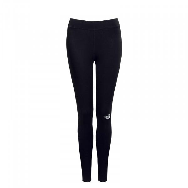Damen Leggings - Cotton - Black