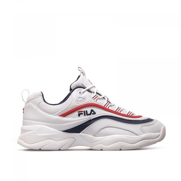 Fila Ray Low White Navy Red