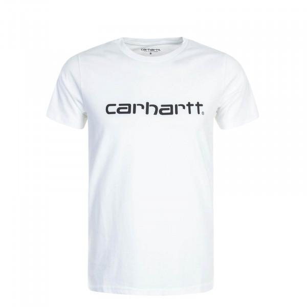 Carhartt TS Script White Black
