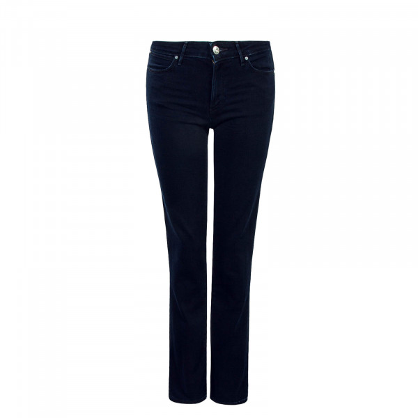 Damen Jeans Straight Blue Black