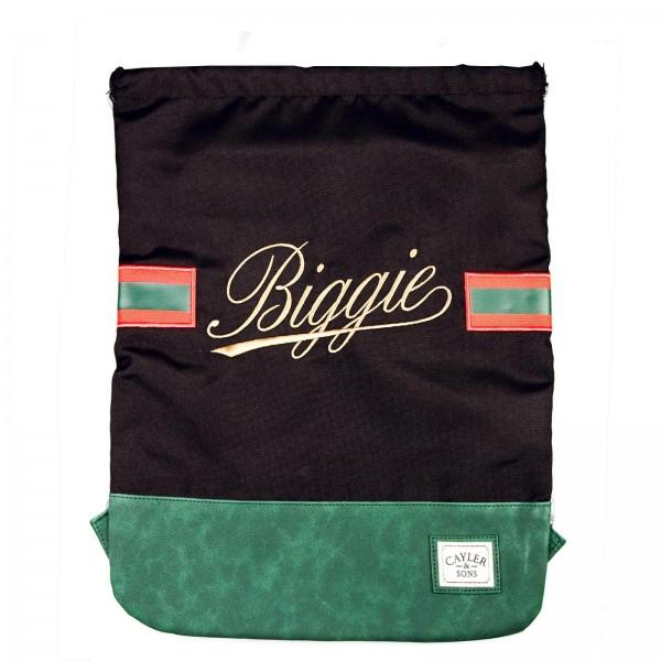 Cayler&Sons Gymbag Biggie Black Green