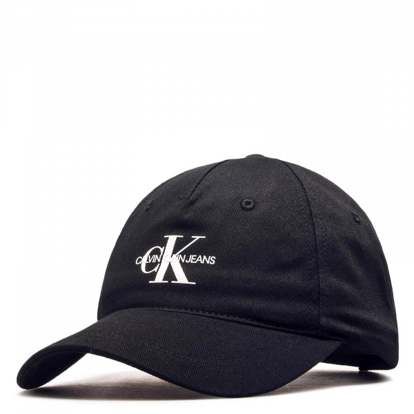 Cap J Monogram Black White