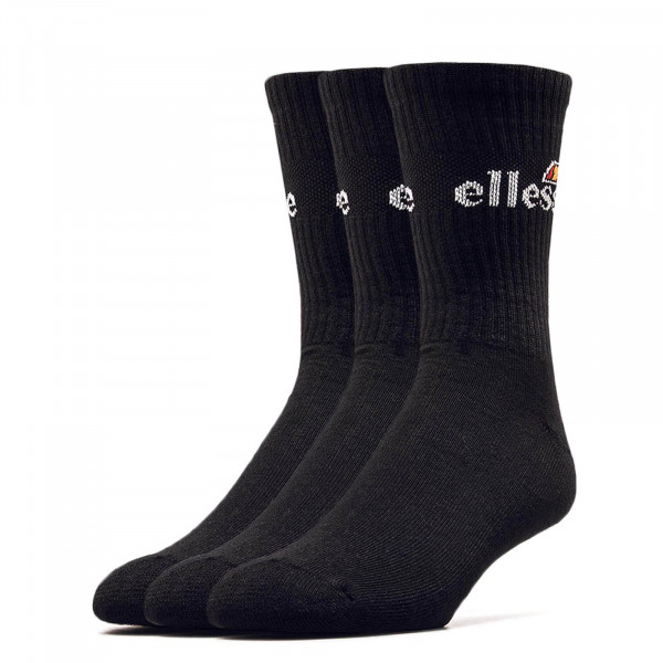 Ellesse Socks Arrom 3er Pack Black