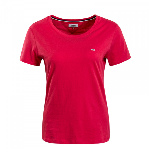 Damen T-Shirt Soft Jersey Pink