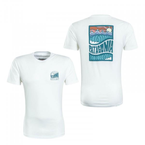Herren T-Shirt Cosmic White