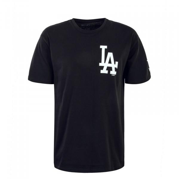 Herren T-Shirt MLB Oversized LA Black