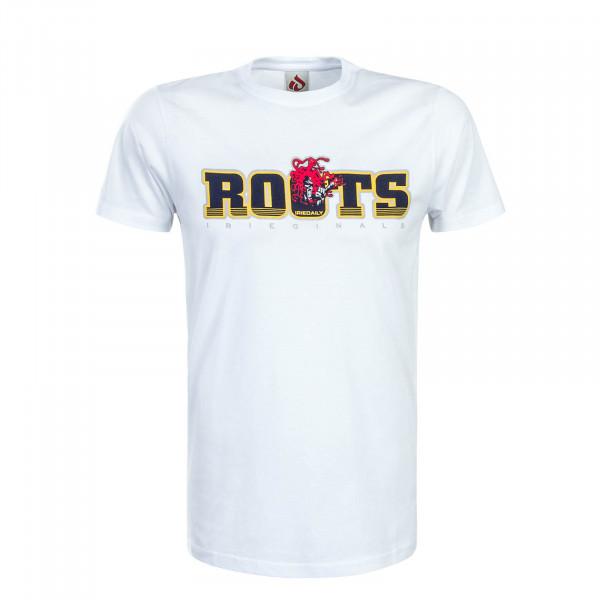 Herren T-Shirt Roots White Navy