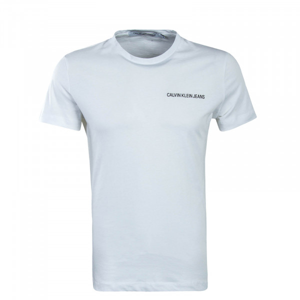 Herren T-Shirt Chest Institutional White