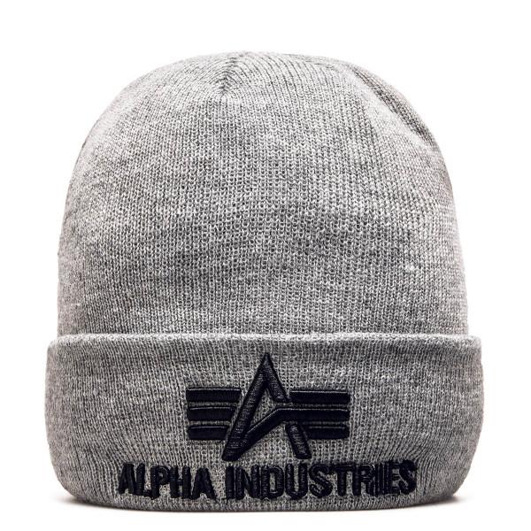 Alpha Beanie 3D Grey