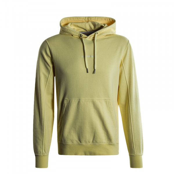 Herren Hoody Institutional Chest Logo Yellow