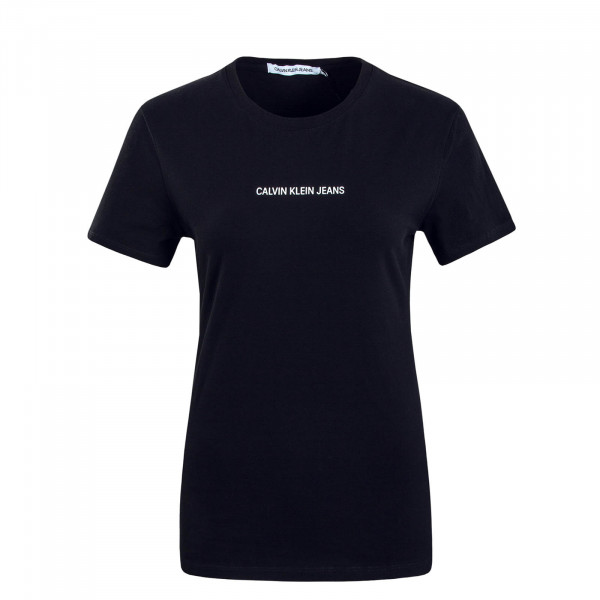 Damen T-Shirt 2258 Logo Stretch Slim Black