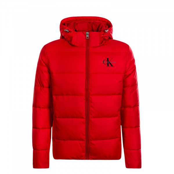 Herren Jacke Monogram Padded Red
