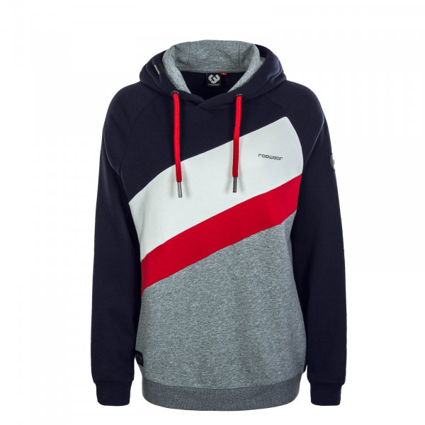 Damen Hoody Tricole Red