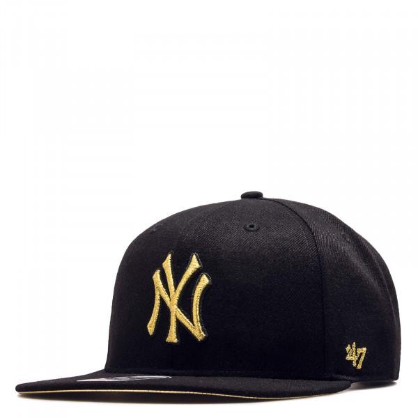 Cap MLB NY Yankees Black Metal