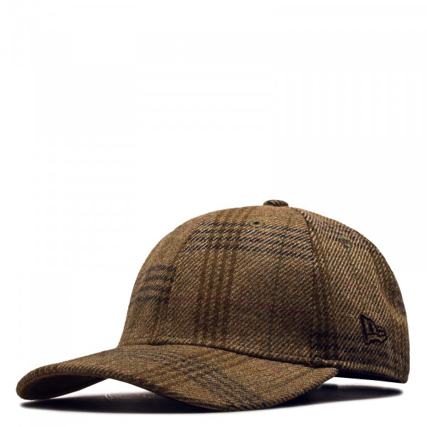 New Era Cap 9Forty Overcheck Brown