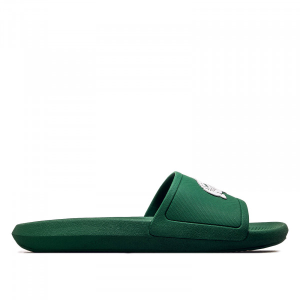 Herren Slide Croco Green White