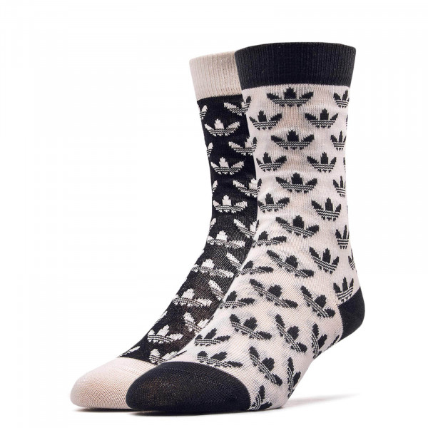 Adidas Socks Thin CR Black White