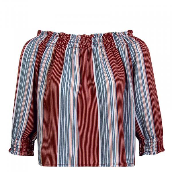 Damen Bluse Pamela 3/4 Coral