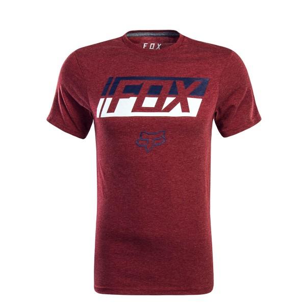 Fox T-Shirt Requiem Bordeaux