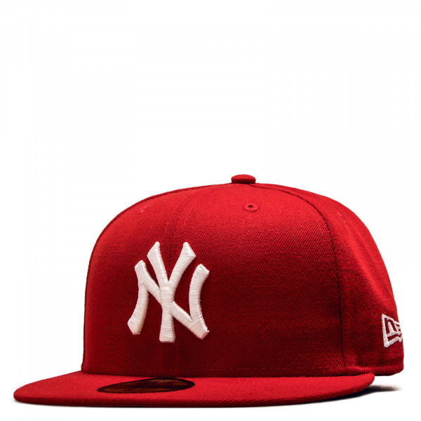 Cap 59Fifty Basic NY Scarlet White