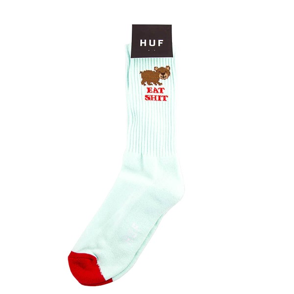 Huf Socks Bear Cut Teal Red
