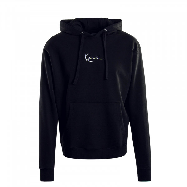 Herren Hoody Signature Black White