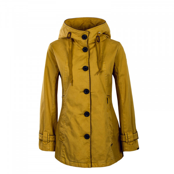Jacket Nuyded 2 Senf Yellow