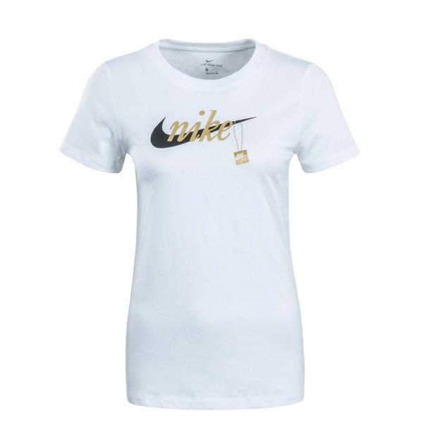 Damen T-Shirt Sport Charm White