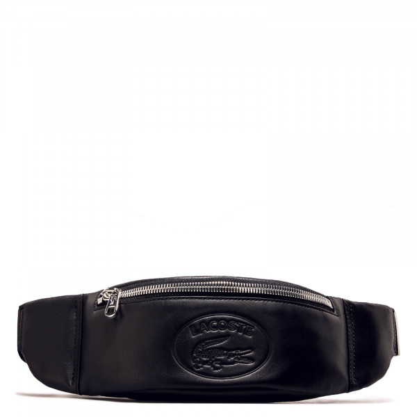Lacoste Waistbag Cow Leather Black
