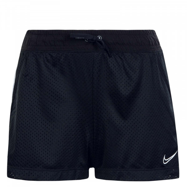 Damen Short Mesh Short Black White