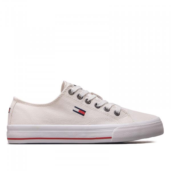 Herren Sneaker - Tommy Jeans Low Cut Vulc - White