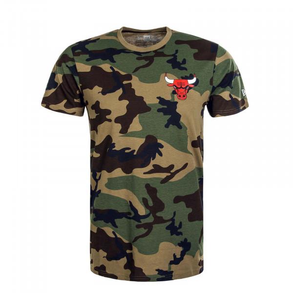 Herren T-Shirt NBA Camouflage ChiBull WDC