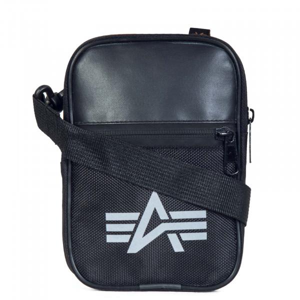 Alpha Bag Mini Utility Reflective Black