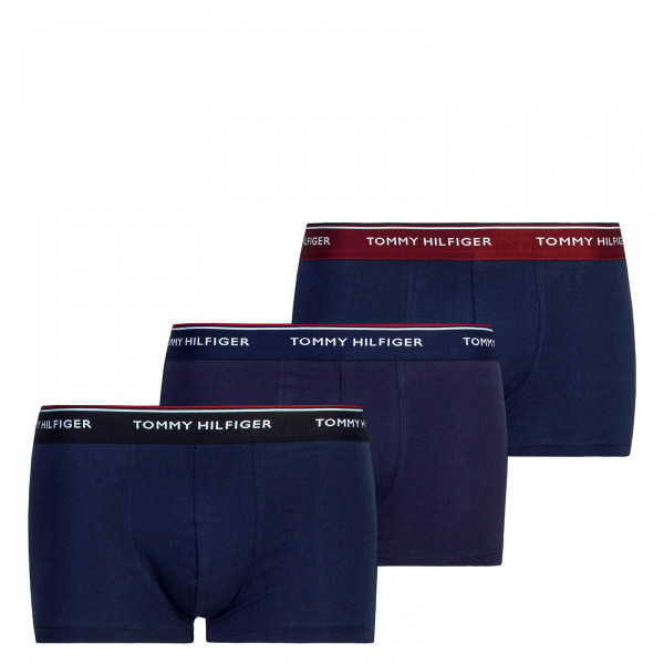 Under Trunk 3er-Pack Navy Black Bordeaux