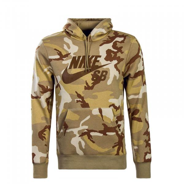 Nike SB Hoody Icon Desert Camo Beige