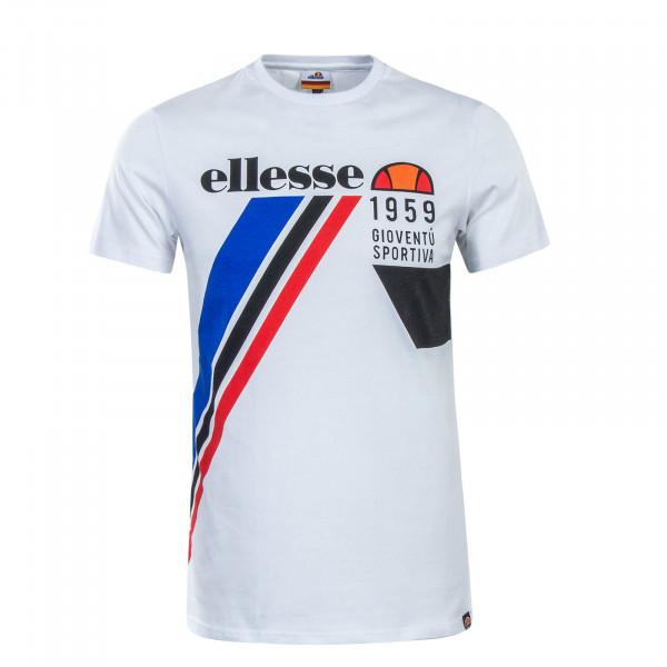 Herren T-Shirt Finlo White Blue Red