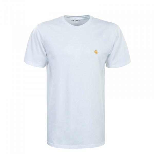 Herren T-Shirt Chase White Gold